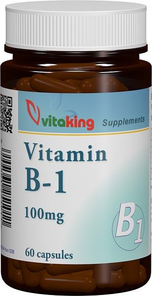 VITAMINA B1 (TIAMINA) 100 mg, 60 capsule, Vitaking