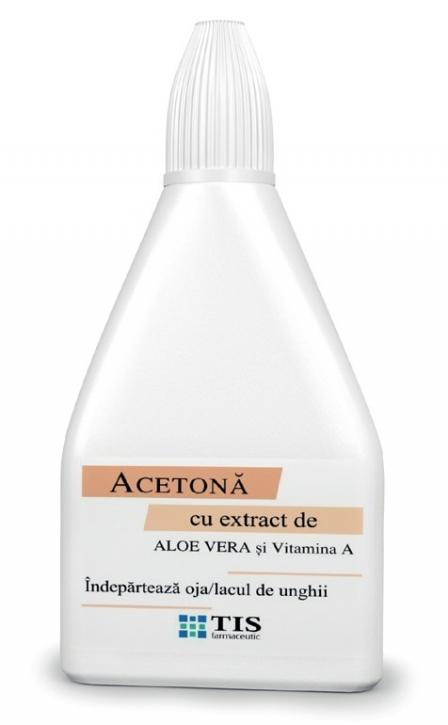 ACETONA CU ALOE VERA SI VITAMINA A, 60 ml, Tis Farmaceutic