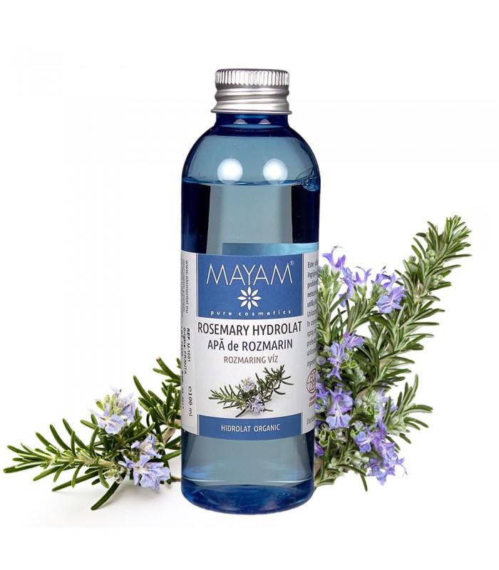 APĂ DE ROZMARIN BIO (ROSMARINUS OFFICINALIS) 100 ml, Mayam
