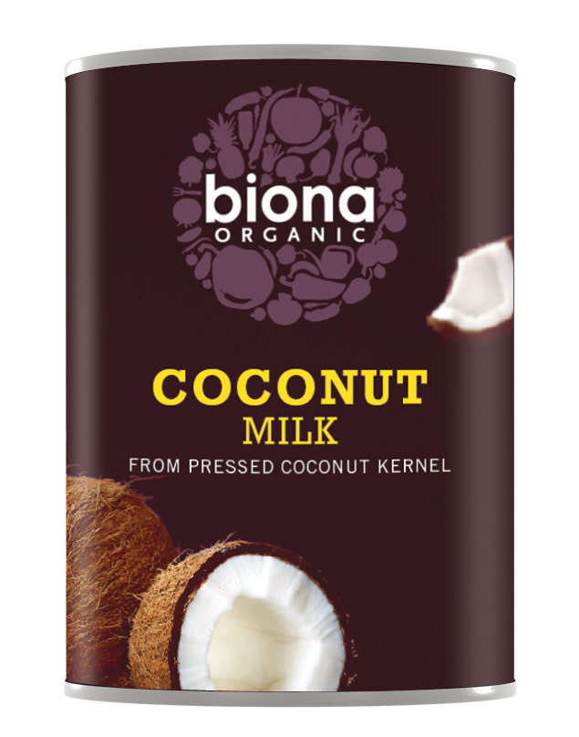 LAPTE DE COCOS BIO, 400 ml, Biona