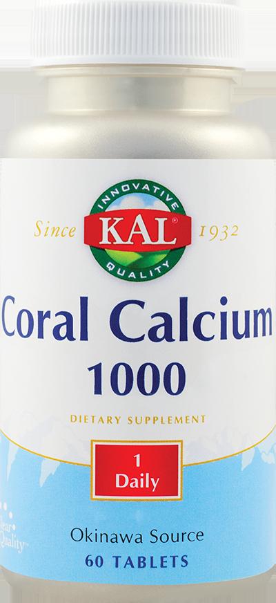 CORAL CALCIUM 60 tablete, Kal