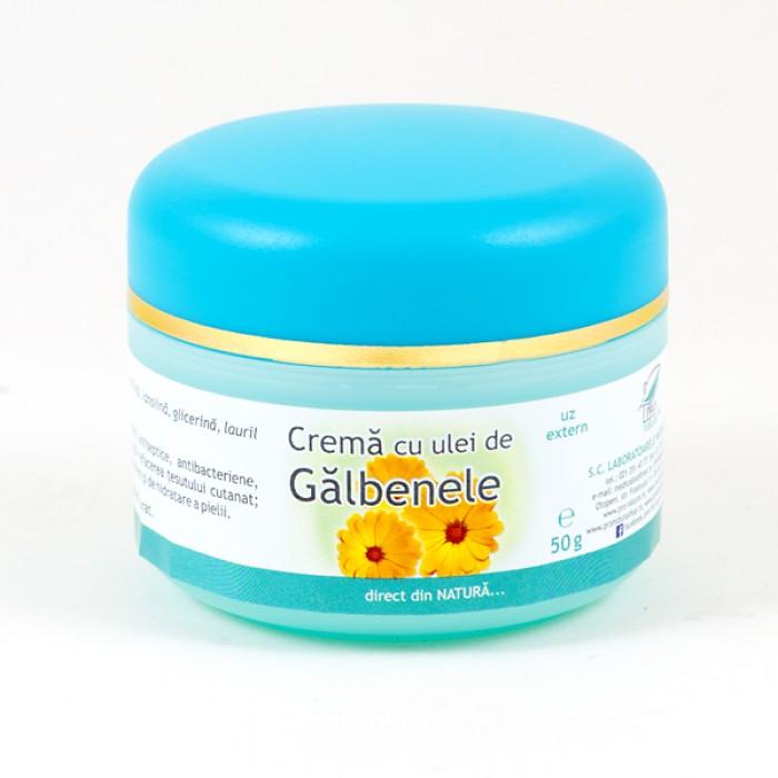CREMA CU ULEI DE GALBENELE, 50 g, Laboratoarele Medica
