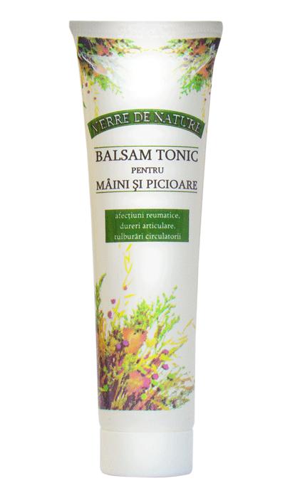 BALSAM TONIC PENTRU MAINI SI PICIOARE - VERRE DE NATURE 50 ml, Manicos