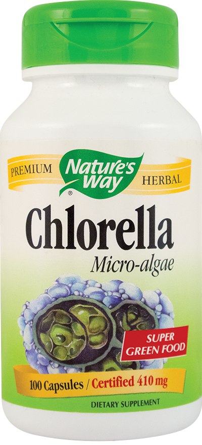 CHLORELLA MICRO-ALGAE 100 capsule, Nature's Way