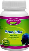 MEMO RELAX 60/120 tablete, Indian Herbal
