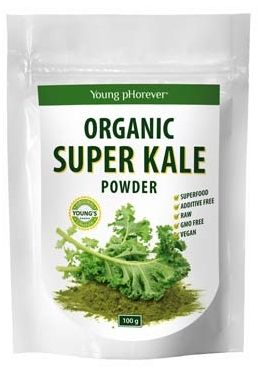 SUPER KALE PULBERE BIO 100 g, Young Phorever