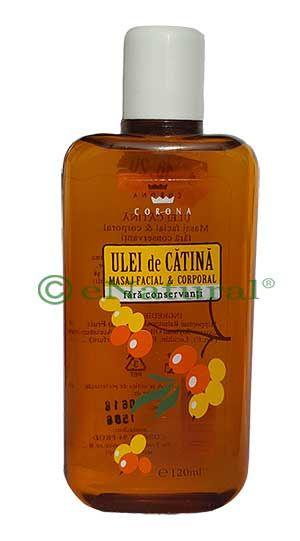 ULEI DE CATINA PENTRU MASAJ FACIAL SI CORPORAL 120 ml, Corona