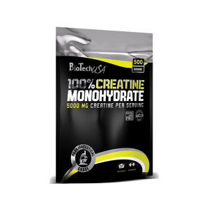 100% CREATINE MONOHYDRATE 100/500 g, Biotech Nutrition