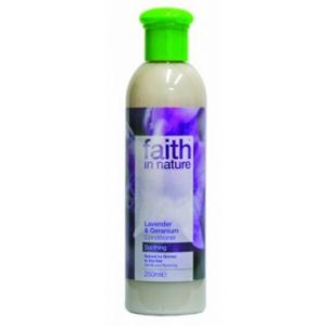 BALSAM CU LAVANDA SI GERANIUM DIN INGREDIENTE NATURALE, 250 ml, Faith in Nature