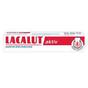 PASTA DE DINTI 75 ml, Lacalut Aktiv
