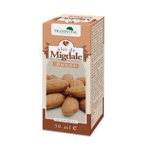 ULEI DE MIGDALE DULCI 30 ml, Transvital Cosmetics
