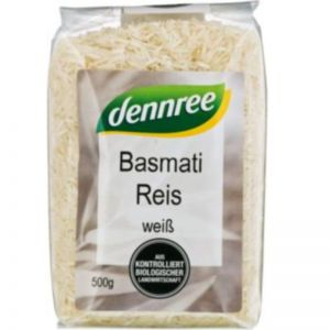 OREZ BASMATI BIO, 500 g, Dennree