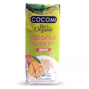 APA DE COCOS CU MANGO BIO, 330 ml, Cocomi