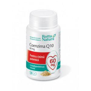 COENZIMA Q10, 60 mg, 30 capsule, Rotta Natura