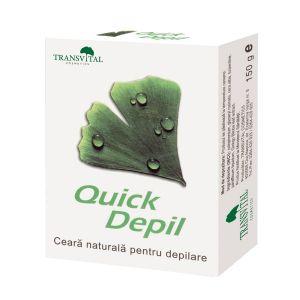 CEARA NATURALA DEPILATOARE - QUICK DEPIL 150 g, Transvital Cosmetics