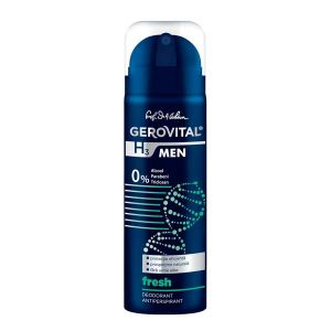DEODORANT ANTIPERSPIRANT FRESH - GEROVITAL H3 MEN 150 ml, Farmec