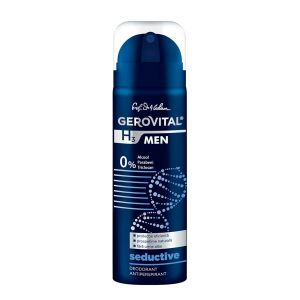 DEODORANT ANTIPERSPIRANT SEDUCTIVE  - GEROVITAL H3 MEN 150 ml, Farmec