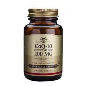 COENZYME Q-10 200 mg, 30 capsule, Solgar