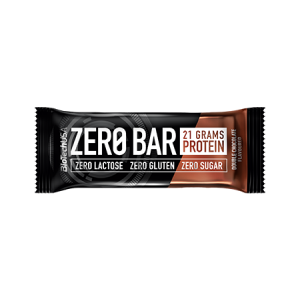 BATON PROTEIC - ZERO BAR Double Chocolate 50 g, Biotech Nutrition