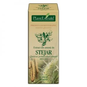 EXTRACT DIN AMENTI DE STEJAR MG=D1, 50 ml, Plant Extrakt