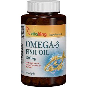 OMEGA 3 ULEI DE PESTE 1200 mg, 100 capsule gelatinoase, Vitaking
