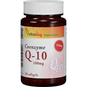 COENZIMA Q10 100 mg, 30 capsule gelatinoase, Vitaking