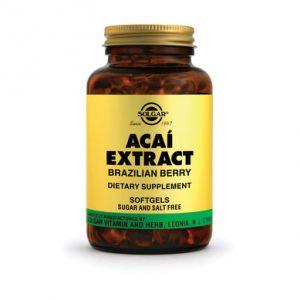 ACAI EXTRACT, 60 capsule, Solgar