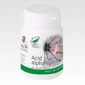 ACID ALPHA LIPOIC, 60 capsule, Laboratoarele Medica