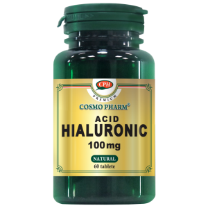 ACID HIALURONIC 100 mg, 60 tablete, Cosmo Pharm