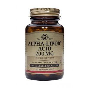 ALPHA LIPOIC ACID 200 mg 50 capsule, Solgar
