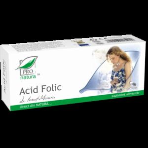 ACID FOLIC, 25/30 capsule, Laboratoarele Medica