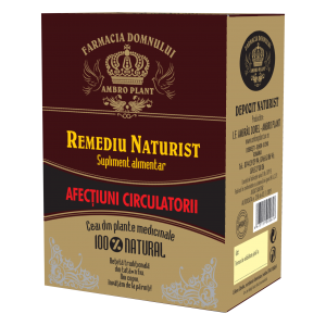 CEAI TRATAMENT - AFECTIUNI CIRCULATORII, 200 g, Ambro Plant