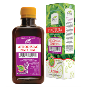 AFRODISIAC NATURAL, Tinctura 200 ml, Dorel Plant