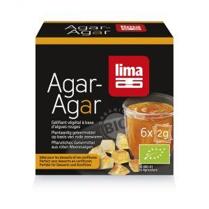 AGAR AGAR PULBERE BIO 6 x 2 g, Lima