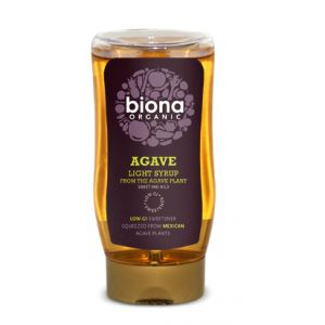SIROP DE AGAVE LIGHT BIO, 250 ml, Biona