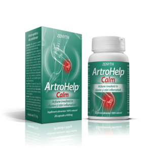 ARTROHELP CALM - Antiinflamator natural, 28 capsule, Zenyth