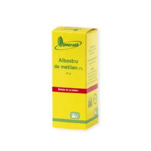 ALBASTRU DE METILEN 1%, 25 g, Hipocrate