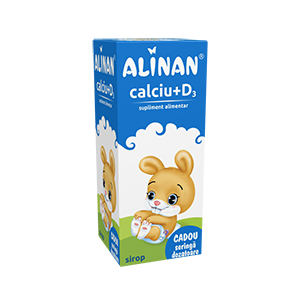 CALCIU + D3 SIROP - ALINAN 150 ml, Fiterman Pharma