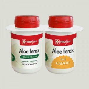 ALOE FEROX 60 comprimate 1+1, VERAfarm