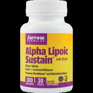 ALPHA LIPOIC SUSTAIN 30 tablete, Jarrow Formulas