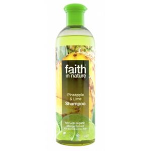 SAMPON CU ANANAS SI LIME DIN INGREDIENTE NATURALE, 250 ml, Faith in Nature