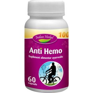 ANTI HEMO 60 capsule, Indian Herbal