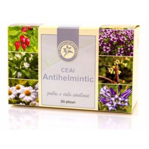 ANTIHELMINTIC, Ceai 20 plicuri, Hypericum Impex