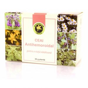 ANTIHEMOROIDAL, Ceai 30 g, Hypericum Impex