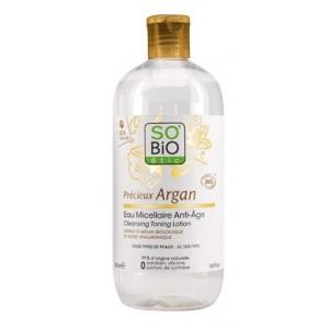 APA MICELARA ANTI-IMBATRANIRE CU ARGAN 500 ml, So Bio Etic