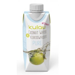 APA DE COCOS PURE BIO, 330 ml, Kulau