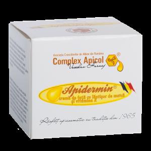 CREMA ANTI-AGING - APIDERMIN 30/45 ml, Complex Apicol