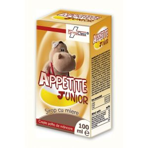 APPETITE JUNIOR SIROP, 100 ml, FarmaClass