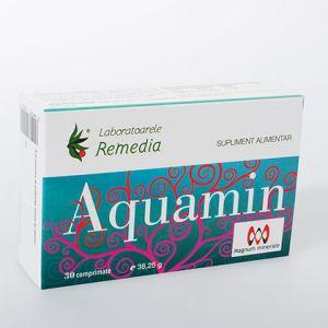 AQUAMIN 30 comprimate, Laboratoarele Remedia