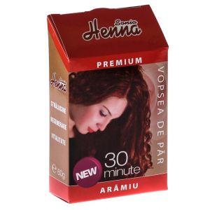 HENNA PREMIUM ARAMIU - PULBERE 60 g, Sonia Henna